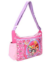 Power Puff Girls Messenger Bag Pink - Height 9 Inches