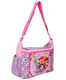 Power Puff Girls Messenger Bag Purple - Height 9 Inches