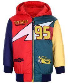 Peridot Full Sleeves Reversible Jacket Tane Gain Embroidery - Multicolour