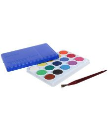 Camel Water Colour Cake With Brush - Blue