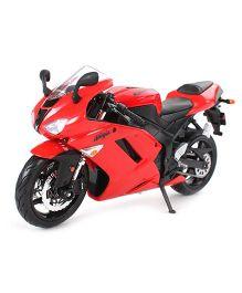 Maisto Die Cast Kawasaki Ninja ZX 6R Bike - Red
