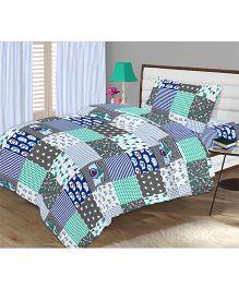 Kooki-Choo Hobby Star Single Bed Sheet - Multicolor