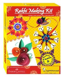 Lighthouse Rakhi Making Kit - Multicolour