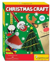Lighthouse Christmas Craft Kit - Multicolour