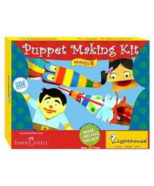 Lighthouse Puppet Making Kit - Multicolour