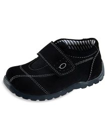 Beanz Alexander Velcro Shoes - Black