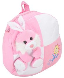 Tickles Bunny Plush Bag Pink - Height 13 Inch