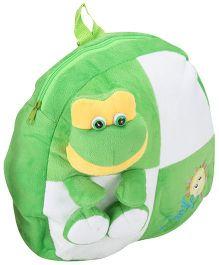 Tickles Frog Shoulder Bag Green - Height 13 Inch