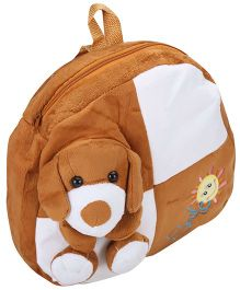 Tickles Puppy Plush Bag - Brown