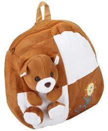 Tickles Teddy Bear Plush Bag Brown - Height 13 Inch