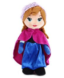 Disney Anna Doll Blue And Pink - 12 inches