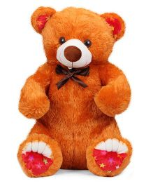 Liviya Master Bear Soft Toy - Orangish Brown