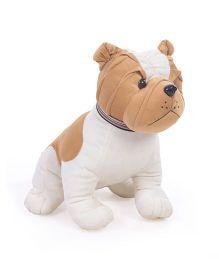 Liviya Sitting Bull Dog Soft Toy - Height 16 Inches