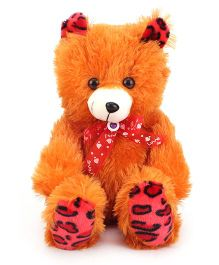 Liviya Teddy Bear Soft Toy Orange - Height 15 Inches
