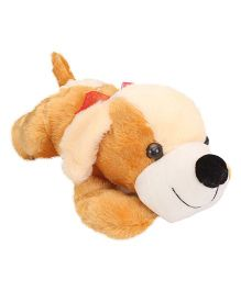 Liviya Floppy Dog Soft Toy Brown And Cream - 54 cm