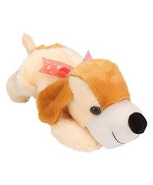 Liviya Floppy Dog Soft Toy - Cream