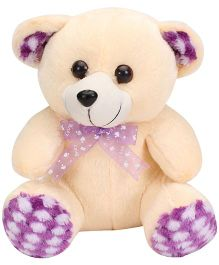 Liviya Teddy Bear With Lace Bow - 26 cm