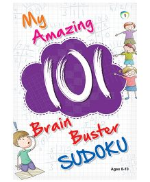 My Amazing 101 Brain Buster Sudoku Book 1 - English