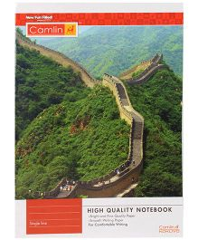 Camlin Single Line Notebook Multicolour - 180 Pages