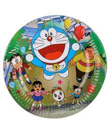 Doraemon Party Paper Plates Multicolour - Pack Of 10