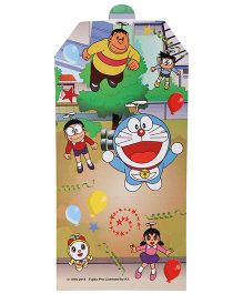 Doraemon Invitation Card Multicolour - Pack of 10