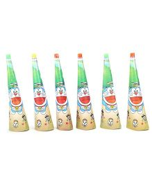 Doraemon Blowout Horns Multicolour - Pack Of 6