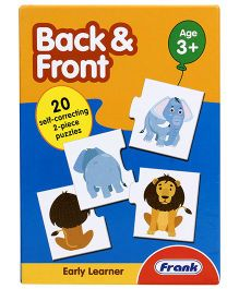 Frank Early Learner Back And Front 2-Piece Animal Puzzle - 40 Pieces