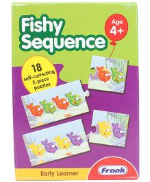 Frank Early Learner Fishy Sequence Puzzle - 36 Pieces