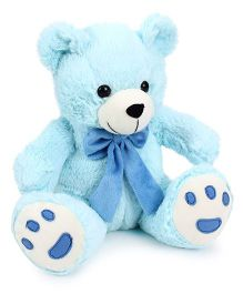Playtoons Teddy Bear Blue - Height 10 Inches