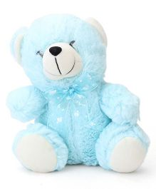 Playtoons Teddy Bear Blue - Height 8 Inches