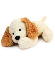 Playtoons Side Face Laying Dog Cream - Height 16 Inches