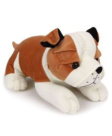 Playtoons Bulldog White & Brown Height - 13 inches