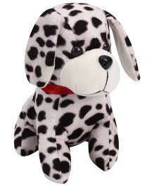 Playtoons Dalmatian Dog White & Black - Height 8 inches