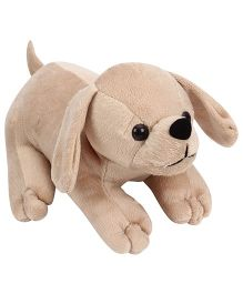 Playtoons Laying Dog Beige - Height 10 inches