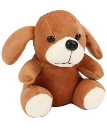 Playtoons Sitting Puppy Brown - 15 cm