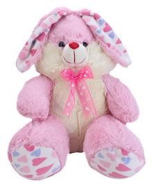 Playtoons Sitting Bunny Pink - Height 13 Inches