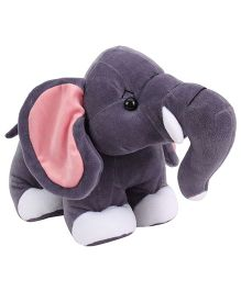 Playtoons Standing Elephant Grey - Height 9 inches