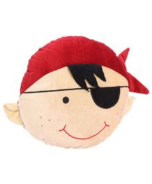 Playtoons Boy Face Cushion - Multi Color