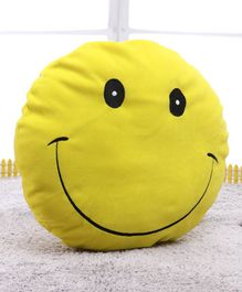 Playtoons Smile Cushion - Yellow