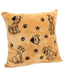 Playtoons Puppy Printed Cushions - Light Brown