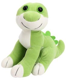 Playtoons Baby Dino Green & White - 25 cm