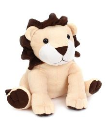 Playtoons Sitting Lion Cream - Height 9 Inches
