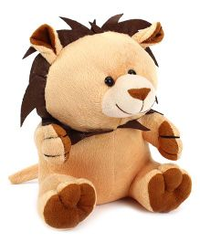 Playtoons Sitting Baby Lion Brown - 20 cm