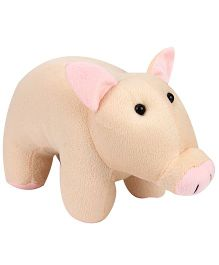 Playtoons Cute Pig Soft Toy Peach - Height 10 Inches