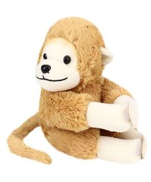 Playtoons Long Tail Monkey Brown - 15 cm