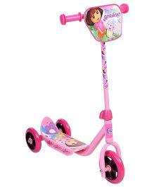 Dora The Explorer Three Wheeler Scooter - Pink