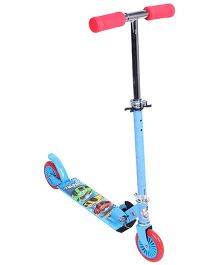 Hotwheels 2 Wheel Scooter - Blue