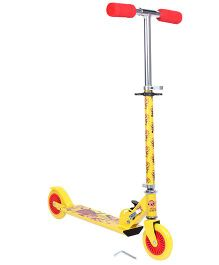 Motu Patlu 2 Wheel Scooter - Yellow