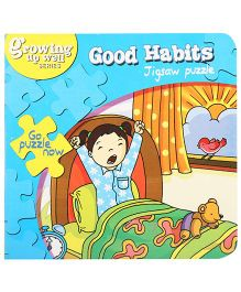 Fafa N Juno Good Habits Jigsaw Puzzle Book