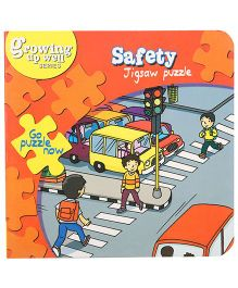 Fafa N Juno Safety Jigsaw Puzzle Book